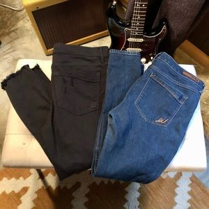 Express jeans (2 pair) 12 short